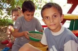 voluntariat amb nens a Hongria