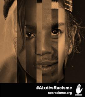 Campanya de SOS Racisme. Font: SOS Racisme