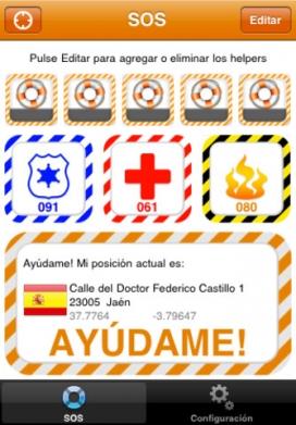 SOS Help, una aplicació per a les víctimes de la violència de génere.