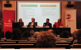 Moment de la Jornada en què s'expliquen els avantatges i inconvenients de l'SROI