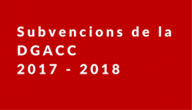 El termini de presentació finalitza el dia 25 d'abril de 2017 - Foto: DGACC