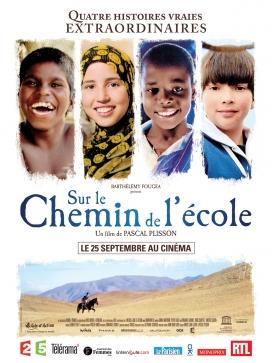 Pel·lícula francesa 'Sur le chemin de l'école'.