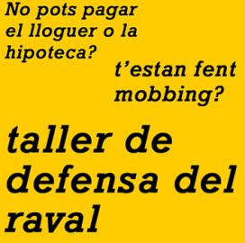 Difusió del Taller de Defensa del Raval