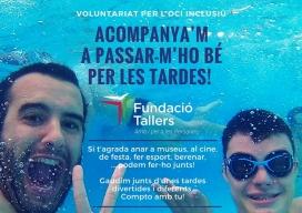 Projecte Voluntariat per l'oci inclusiu
