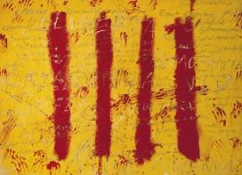 'L'esperit català', del pintor Antoni Tàpies. Font: Antoni Tàpies