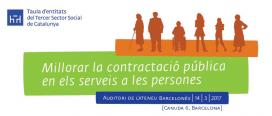 L'acte tindrà lloc el 14 de març a Barcelona. Font: Taula d'Entitats del Tercer Sector Social