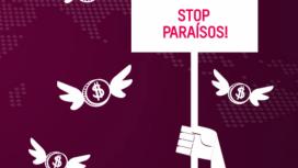 Imatge d'una campanya impulsada per Global Alliance for Tax Justice. Font: Global Alliance for Tax Justice