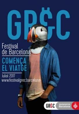 Cartellde la 41a edició del GREC