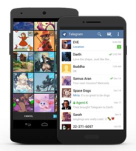 Telegram és una alternativa a Whatsapp molt interessant.
