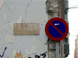 "Rètol carrer ""Calle tercermundista""_Jaume d'Urgell ∴_Flickr"