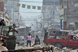 Haití, encara no recuperada del terratrèmol del 2010. Font: RIBI Image Library, Flickr