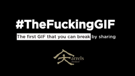 Campanya The Funcking GIF d'Arrels Fundació. Font: Arrels