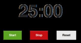 Tomato timer és un comptador de temps que utilitza la tècnica pomodoro
