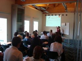 Imatge d'una sessió formativa de Torre Jussana (Font: Torre Jussana)