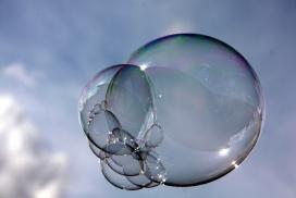 Bombolles de sabó. Font: Web d'Asi