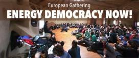 La 1a Trobada europea per la democràcia energètica tindrà lloc del 14 al 17 de setembre a Sant Feliu de Pallerols (Girona). Font: Amics de la Terra