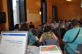 Imatge de la I trobada d'entitats de Suport Associatiu