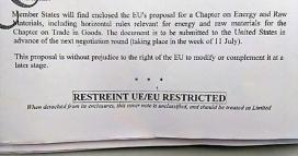 S'ha fet públic un document de proposta pel capítol relatiu a l'energia (imatge:  noalttip.org)