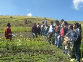 Projecte de turisme rural a l'Equador. Font: cristinaturismounia.blogspot.com