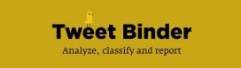 Amb Tweet Binder podreu analitzar si una etiqueta de Twitter està sent utilitzada o no.