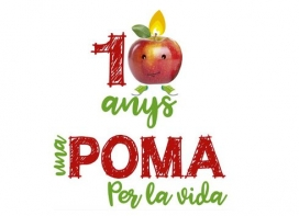 """La campanya """"Una Poma per la Vida"""" compleix 10 anys"""