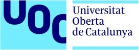 El logotip de la Universitat Oberta de Catalunya. Font: UOC