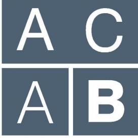 Logotip de l'Associació Contra l'Anorèxia i la Bulímia (ACAB)
