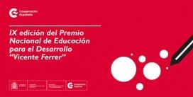 """Premi Nacional d'Educació per al Desenvolupament """"Vicente Ferrer"""""""