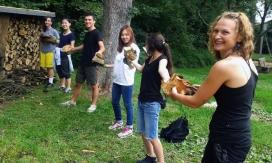 Imatge d'un camp de voluntariat de COCAT. Font: Ariadna Pérez