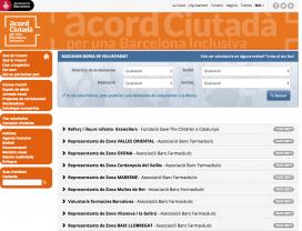 Les entitats de Barcelona que formen part de l'Acord Ciutadà per una Barcelona Inclusiva disposen d'una borsa específica. (Font: Acord Ciutadà per una Barcelona Inclusiva)