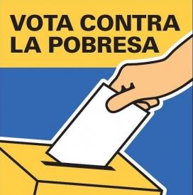 Vota contra la pobresa