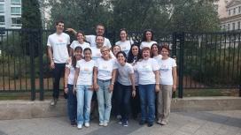 L'equip de la ONG grega Boroume. Recentment han col·laborat en els camps de refugiats (imatge: boroume.gr)