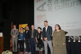 Entrega Premi ADAC a la Normalització lingüística i cultural
