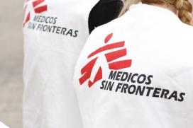 Logo de Metges Sense Fronteres. Font: Wikimedia
