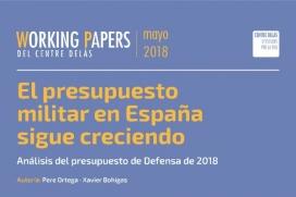 El Centre Delàs analitza la despesa real en defensa en un nou informe.