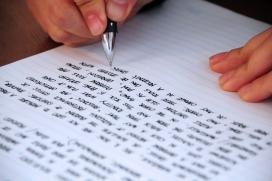 Writing. Font: jjpacres (Flickr)
