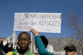 Manifestació contra la xenofòbia. Font: Wikipedia