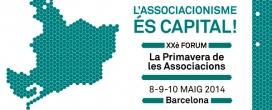 Cartell XX Forum Primavera de les Associacions
