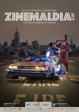 Cartell del X Festival de cinema basc de Catalunya