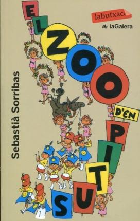 """Portada """"El Zoo d'en Pitus"""" (1966), de Sebastià Sorribas."""
