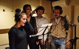 """La cançó """"No és tan bonic com sembla"""" gravada per cantants, actors i actrius (imatge: zooxxi)"""