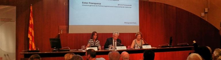 II Trobada d'entitats de foment de la llengua catalana. Font: Suport Associatiu