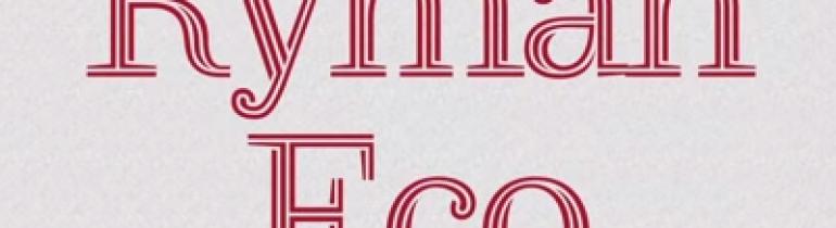 La tipografia Ryman Eco