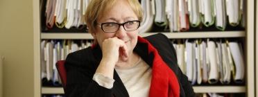 Isabel Baixeras, jurista que ha escrit el requeriment