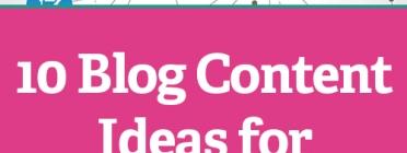 Imatge il·lustratiu del text original en anglès 10 Blog Content Ideas for Nonprofits