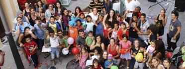 Un dels programes de la Fundació Canpedró