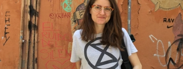 Bàrbara Nicolau, membre de Rebel·lió o Extinció. Font: Bàrbara Nicolau