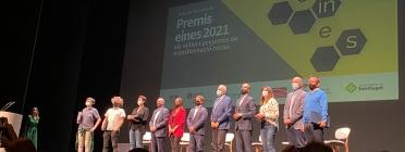 L'entrega dels premis eines el passat dijous 7 d'octubre del 2021. Font: Technovation Girls