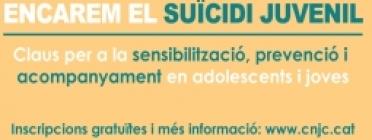 Encarem el suïcidi juvenil! Claus per a la sensibilització, prevenció i acompanyament en adolescents i joves