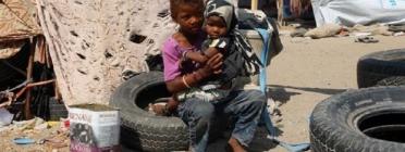 La población infantil del Iemen viu en condiciones extremes
